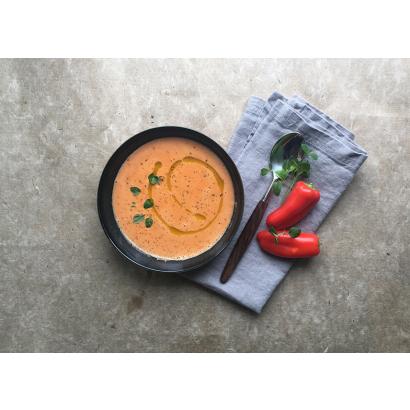 Soupe au poivron rouge