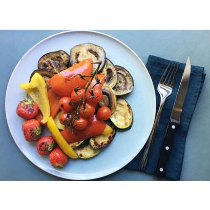 Légumes grillés à la vinaigrette aux épices