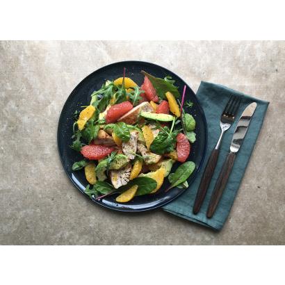 Salade au poulet & aux agrumes