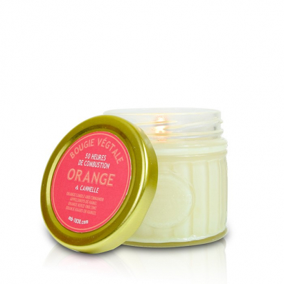 Bougie végétale Cannelle & Orange - 230g
