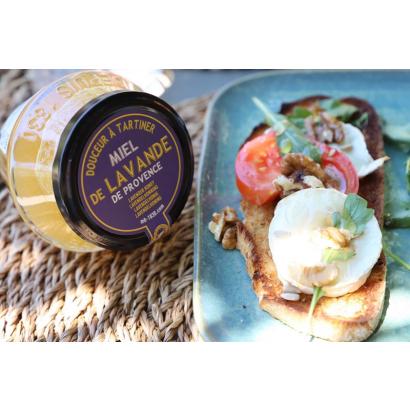 Bruschetta aux figues et chèvre miel