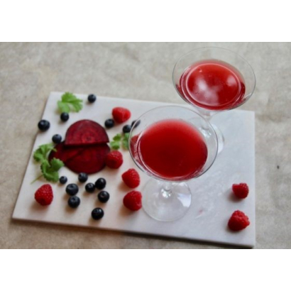 Cocktail virgin au balsamique Cranberry
