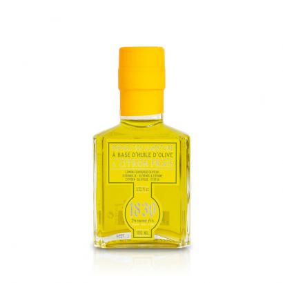 Huile d'olive aromatisée au citron - 100ml