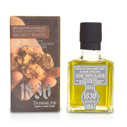 Huile d'olive vierge extra à la truffe blanche - 100ml