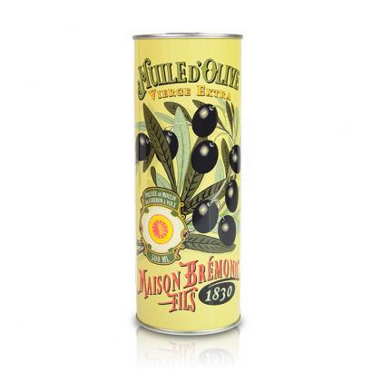 L'huile d'olive vierge extra Héritage Maison Brémond fruité mûr - 500 ml
