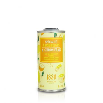 Huile d'olive vierge extra aromatisée au citron - 250 ml