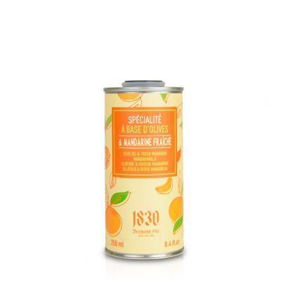 Huile d'olive vierge extra aromatisée à la mandarine - 250ml