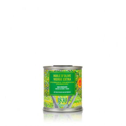 Mas Sénéguier - Huile d'olive vierge extra - AOP Aix-en-Provence - Fruité vert - 100 ml