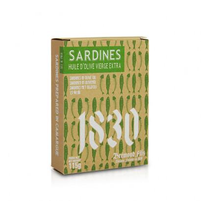 Sardines à l'huile d'olive - 115g