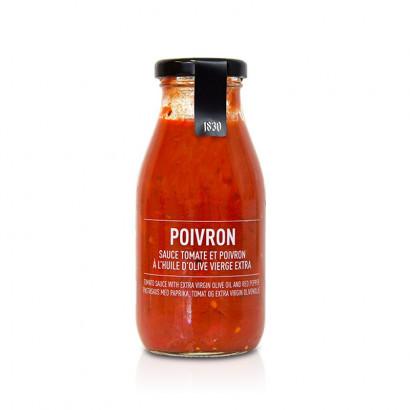 Sauce tomate aux poivrons - 250g