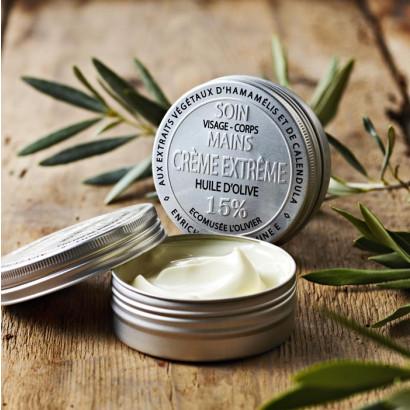 Crème soins extrême à l'huile d'olive - 60g