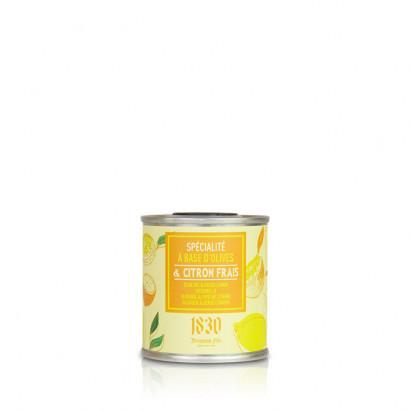 Huile d'olive vierge extra aromatisée au citron - 100 ml