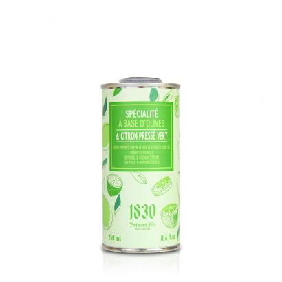 Huile d'olive vierge extra aromatisée au citron pressé vert - 250ml