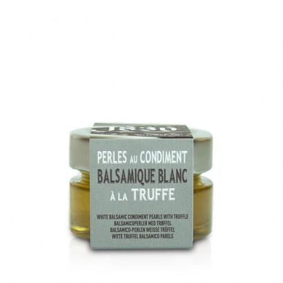 Perles au condiment balsamique blanc à la truffe - 50g
