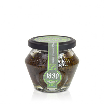 Pulpe d'olives noires, thym & balsamique de Modène - 100g
