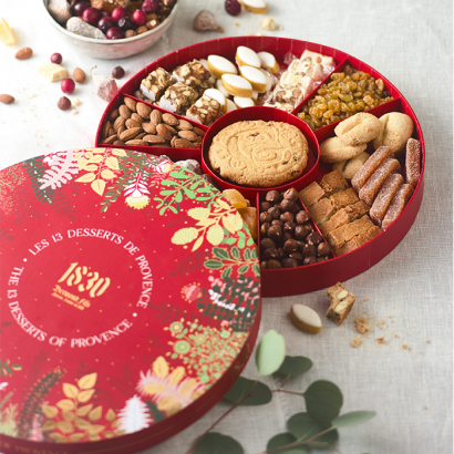 Gift box of 13 desserts Christmas