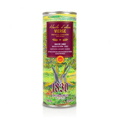 huile d'olive, Mas de L'Ange - Fruité noir - 500ml
