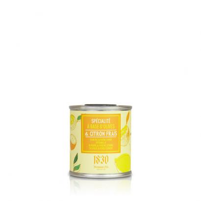 Huile aromatisée au citron - 100ml