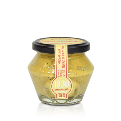 Organic Mustard with Herbes de Provence - 90g