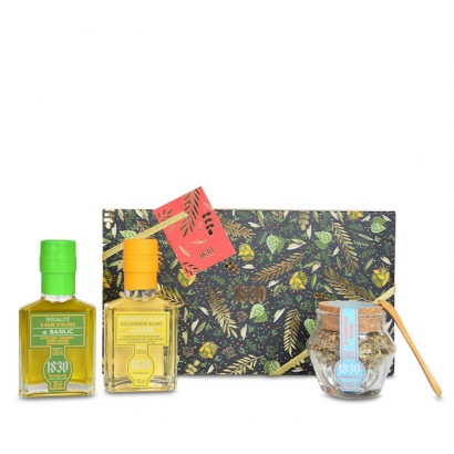 Basil & Lemon gift set