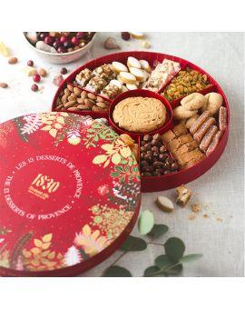 Gift box of 13 desserts Christmas