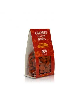 Spicy toasted almonds