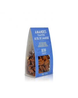 Toasted almonds with Camargue salt