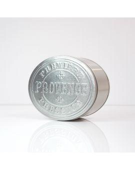 Empty 'Provence' metal box - small size