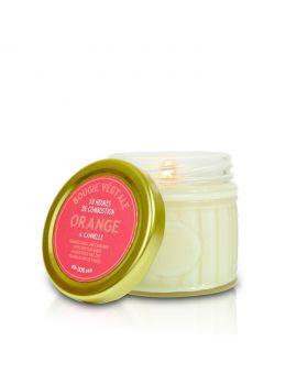 Bougie végétale Cannelle & Orange