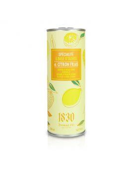 Huile d'olive vierge extra aromatisée au citron