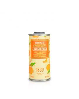 Huile d'olive vierge extra aromatisée à la mandarine