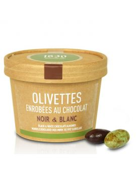 Chocolate almonds from Provence