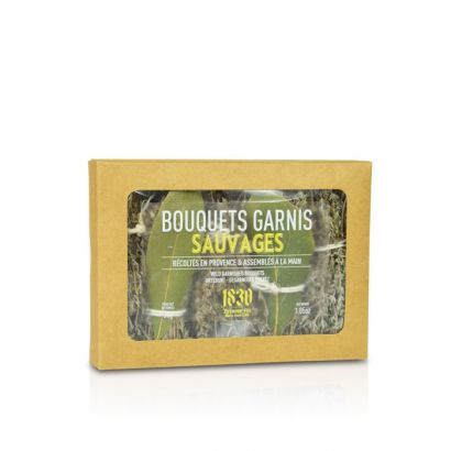 Bouquets garnis sauvages