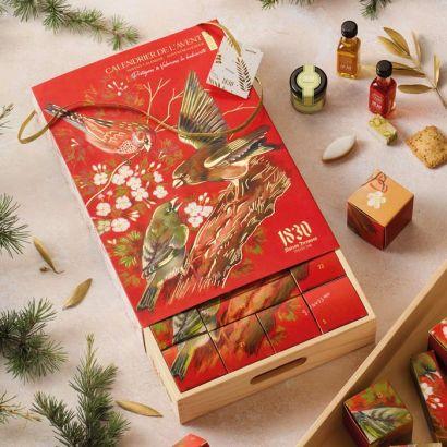 Calendrier de l'avent gourmand Noël 2021