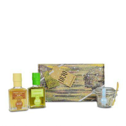Green lemon & balsamic gift set