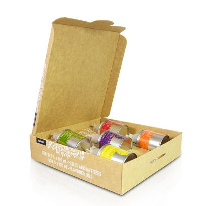 Gourmet touch 5 huiles aromatisées - 5x100ml