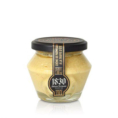 Crème de parmesan à la truffe d'été