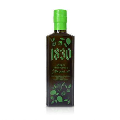 Huile d'olive vierge extra aromatisée au citron pressé vert