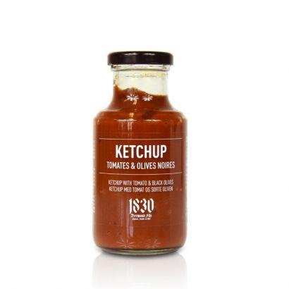 Ketchup aux olives noires