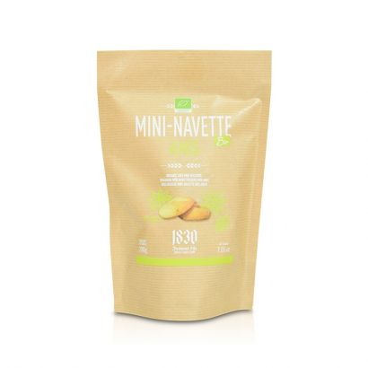 Organic mini Navettes de Provence with Aniseed