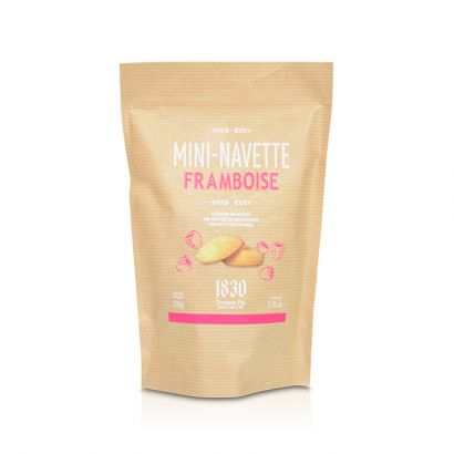 Rasberry-flavored mini Navettes from Provence