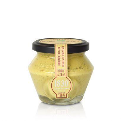 Moutarde bio aux herbes de Provence