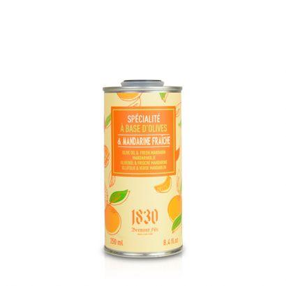 Fresh tangerine flavoured olive oil
