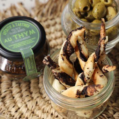 Torsade à la pulpe d'olives noires