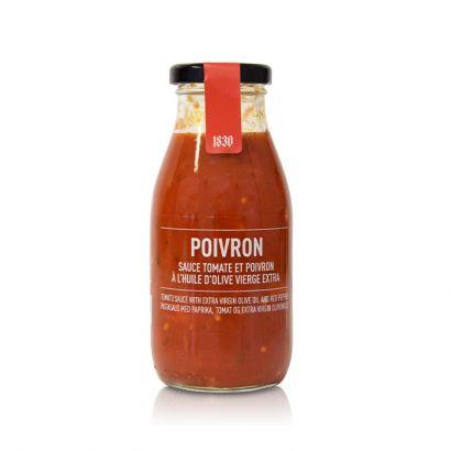 sauce tomate aux poivrons