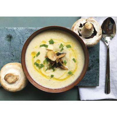 Soupe Forestière aux champignons
